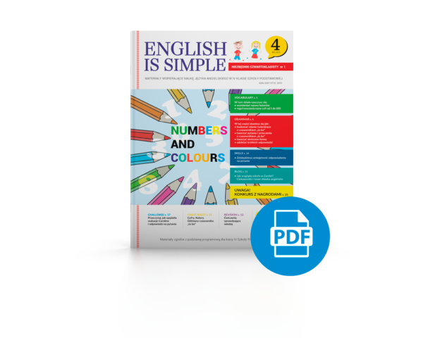kolory liczby po angielsku pdf