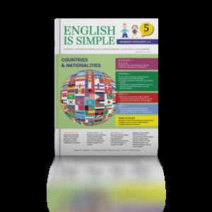 Nazwy państw i narodowości po angielsku. dla dzieci