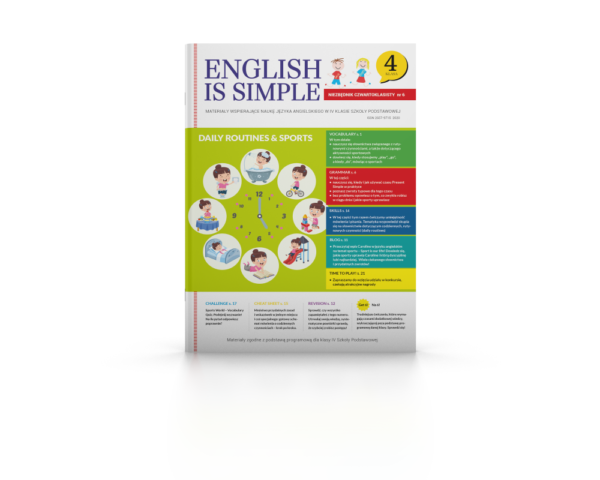 English is simple. Routines & sports