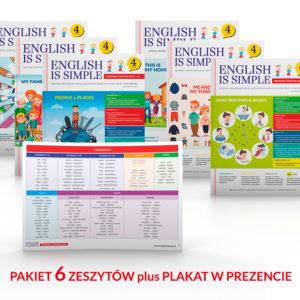 Ćwiczenia do angielskiego - klasa 4