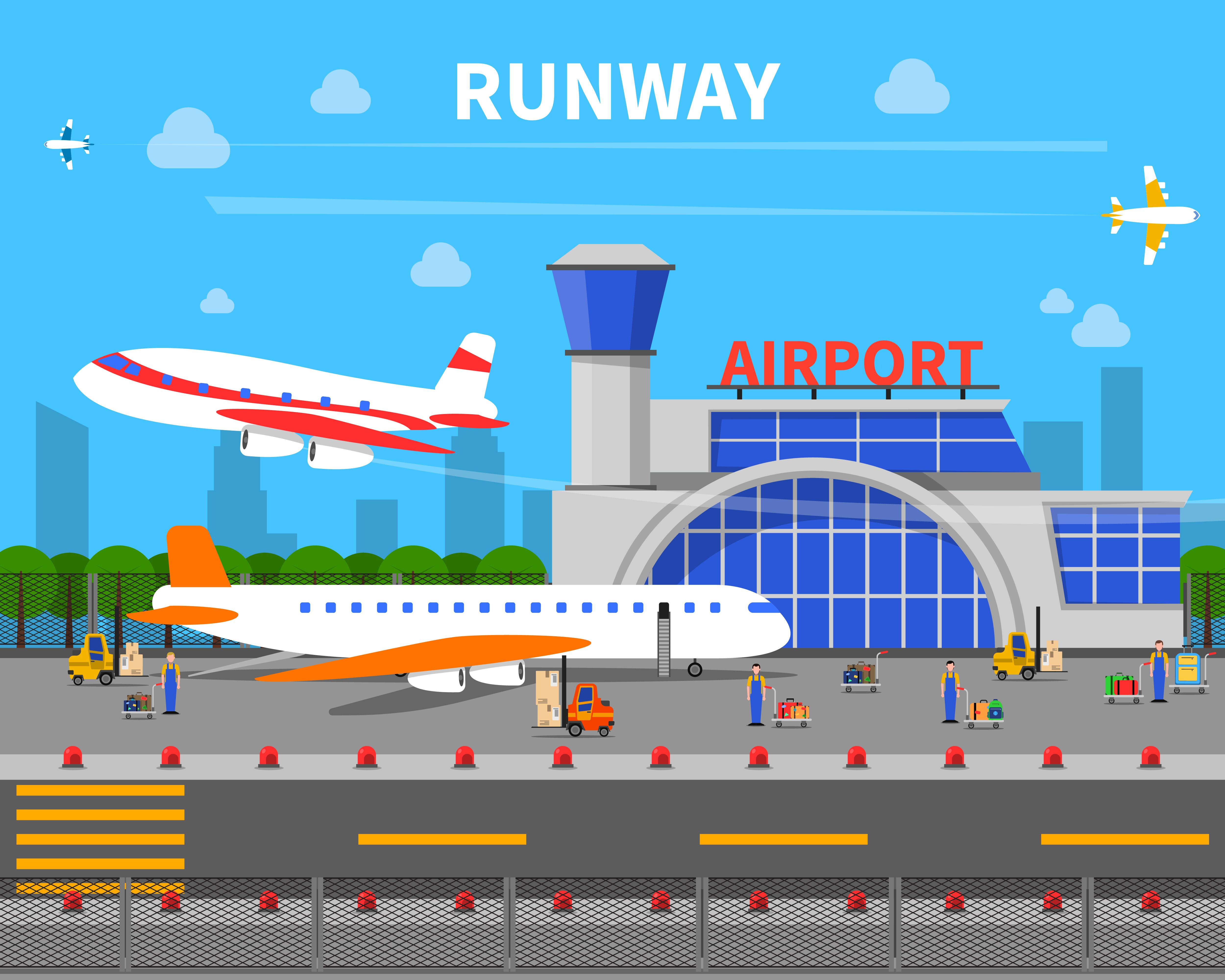 Podróż samolotem – przydatne słówka i zwroty