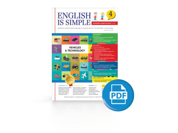 pojazdy angielski ćwiczenia PDF