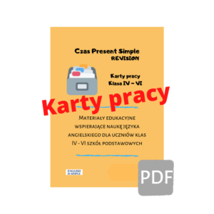 karty pracy present simple