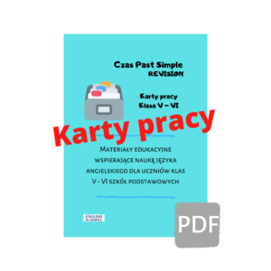 karty pracy past simple