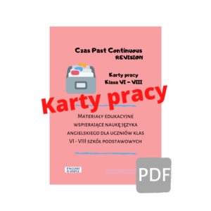 karty pracy past continuous
