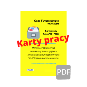 karty pracy future simple