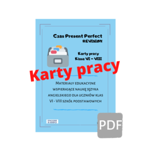 karty pracy present perfect