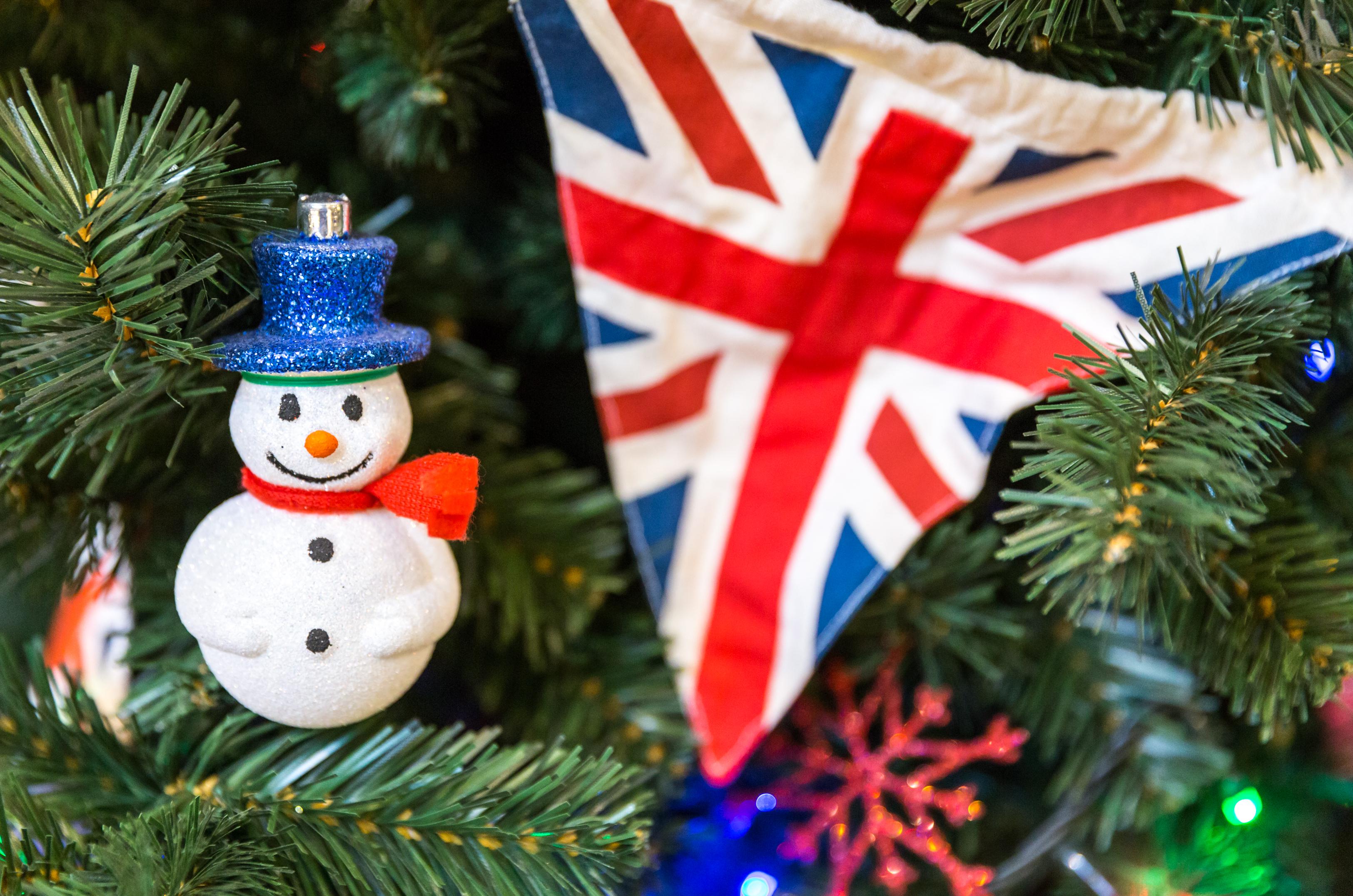 Boże Narodzenie w Wielkiej Brytanii