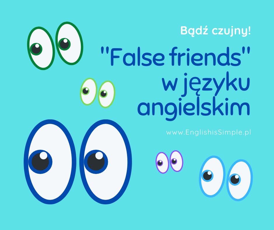 false friends przykłady