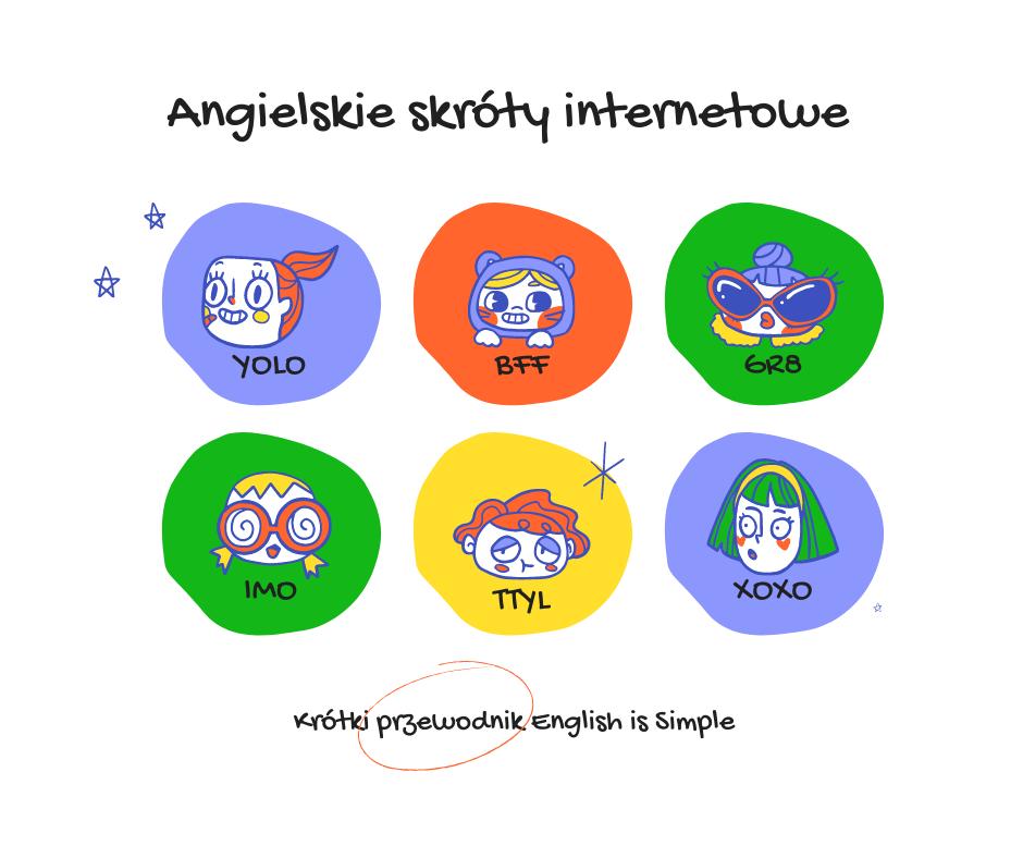 Angielskie skróty internetowe – krótki przewodnik