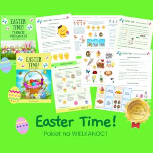 Wielkanoc słownictwo dla dzieci