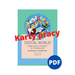 digital world słownictwo