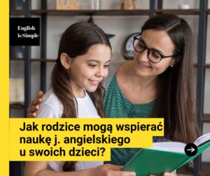 wsparcie dziecka w nauce angielskiego