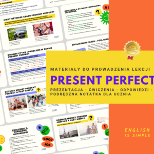 present perfect angielski