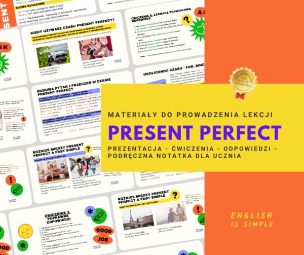 present perfect angielski
