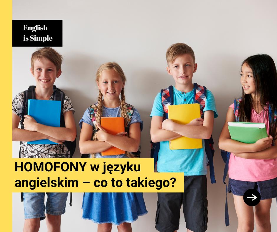 Homofony w języku angielskim – co to takiego?