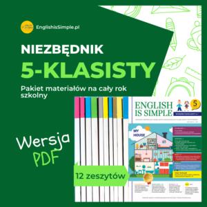 język angielski klasa 5 pdf