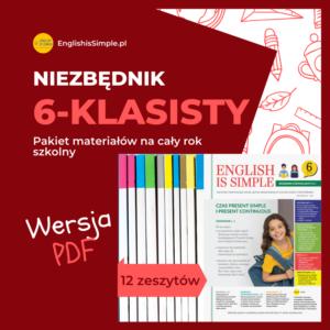 angielski ćwiczenia pdf klasa 6