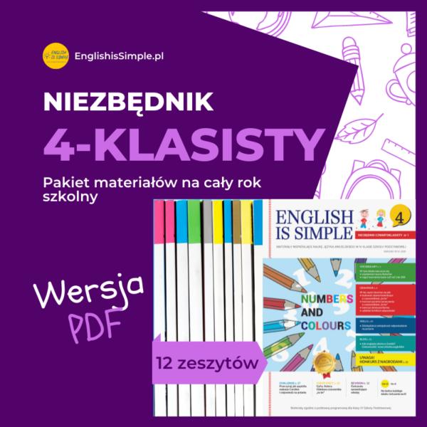 ćwiczenia pdf angielski klasa 4