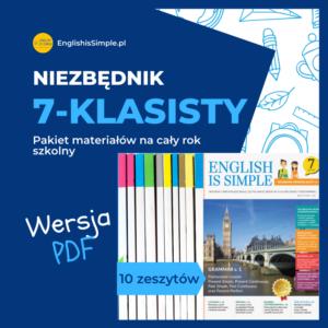 angielski ćwiczenia pdf klasa 7
